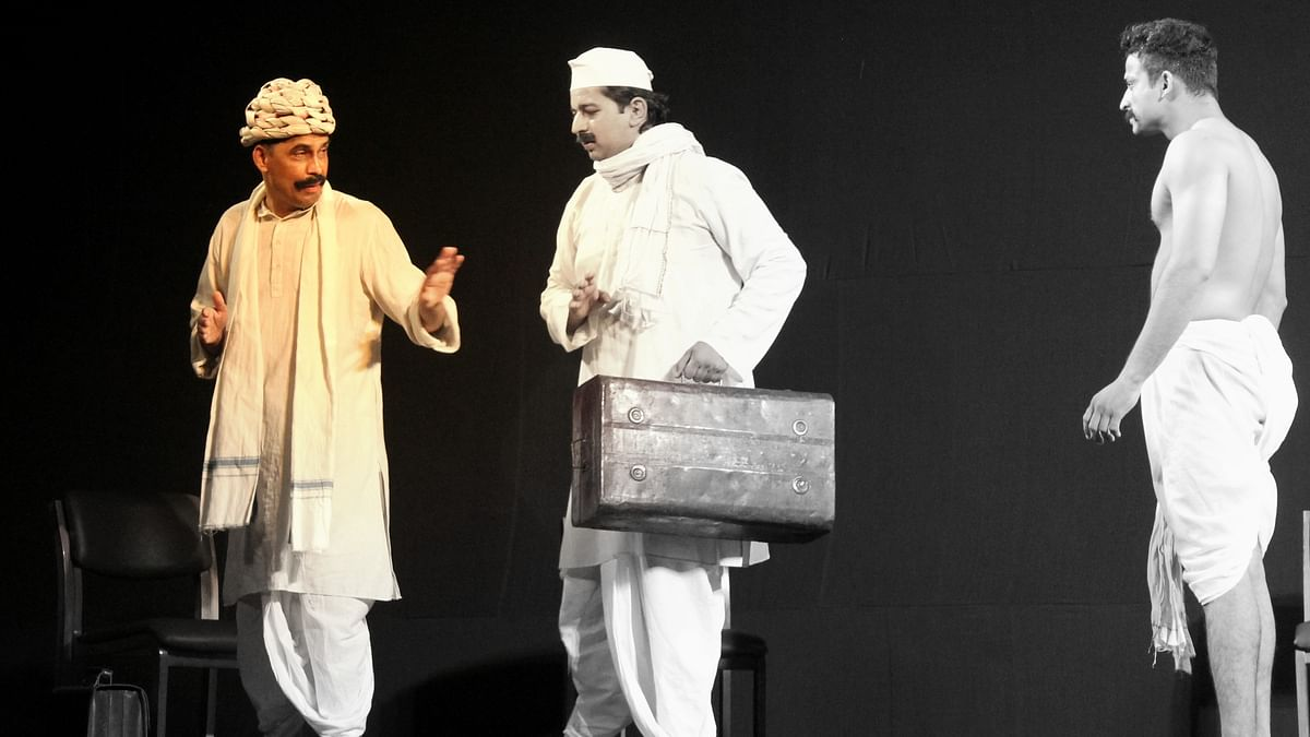 Mohan Se Mahatma: A play highlighting Gandhi and Champaran movement