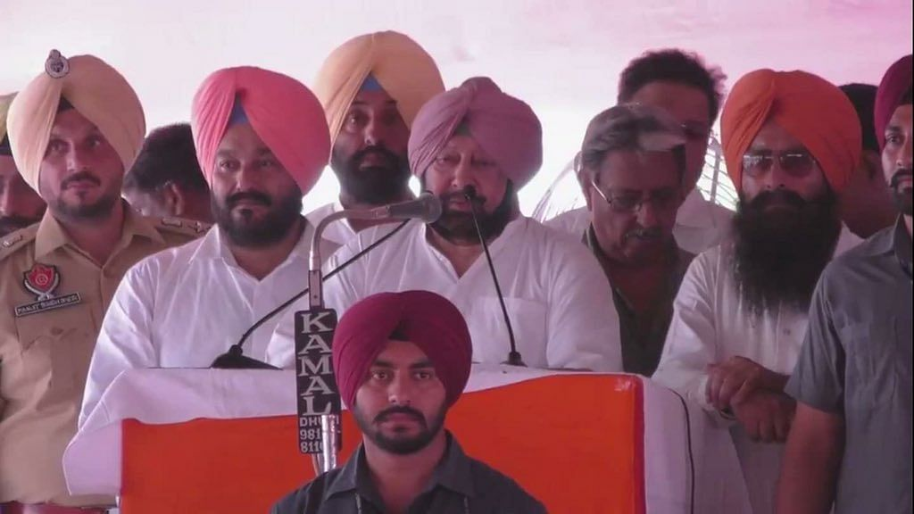 Punjab: Congress, Akalis hold rallies, Punjab CM says no one will be spared in sacrilege cases