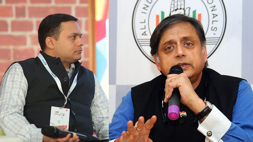 "Shashi Tharoor trashes Sangh Parivar's ""revolting hypocrisy"" on Gandhi"