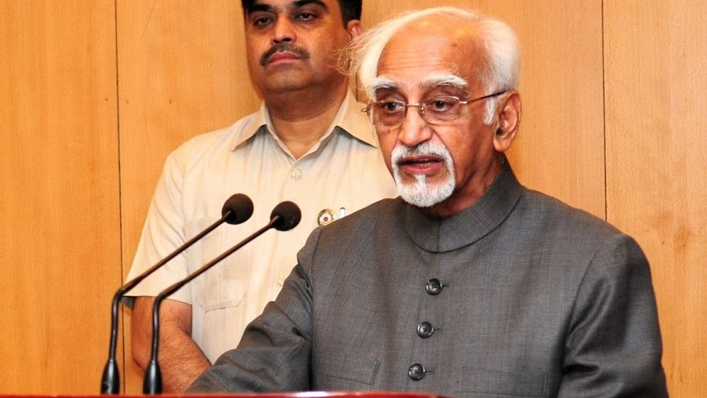 Former VP Hamid Ansari: BJP ideology seeks to submerge democratic values