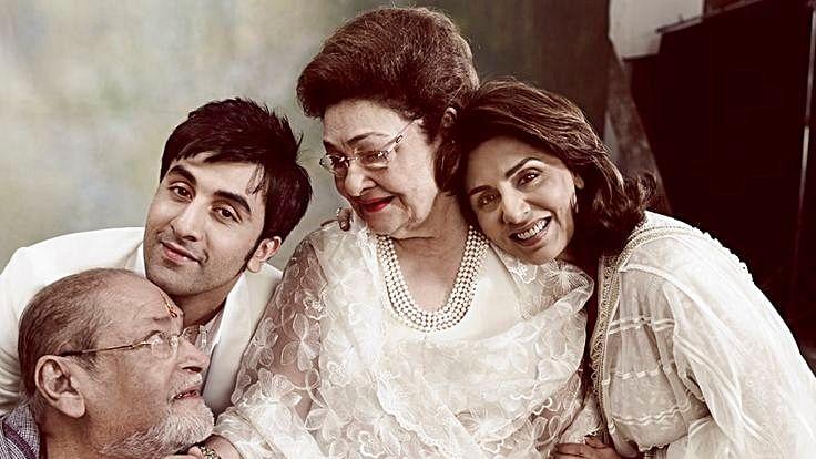 Condolences pour in for Raj Kapoor's late wife, Krishna Raj Kapoor