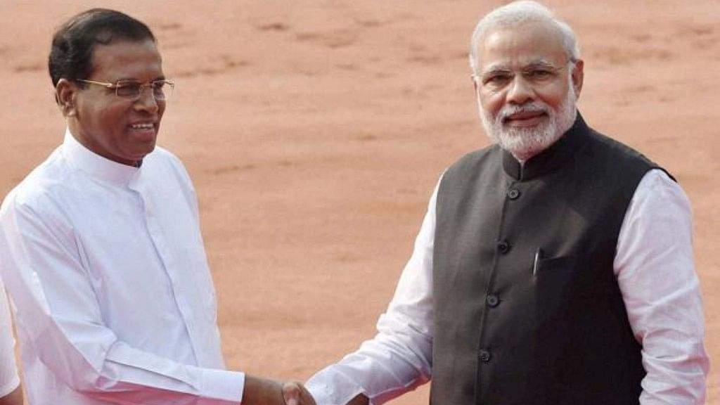 "PM Modi ""doesn't mind"" if India is not involved in developing the Colombo Port, claims Sirisena"