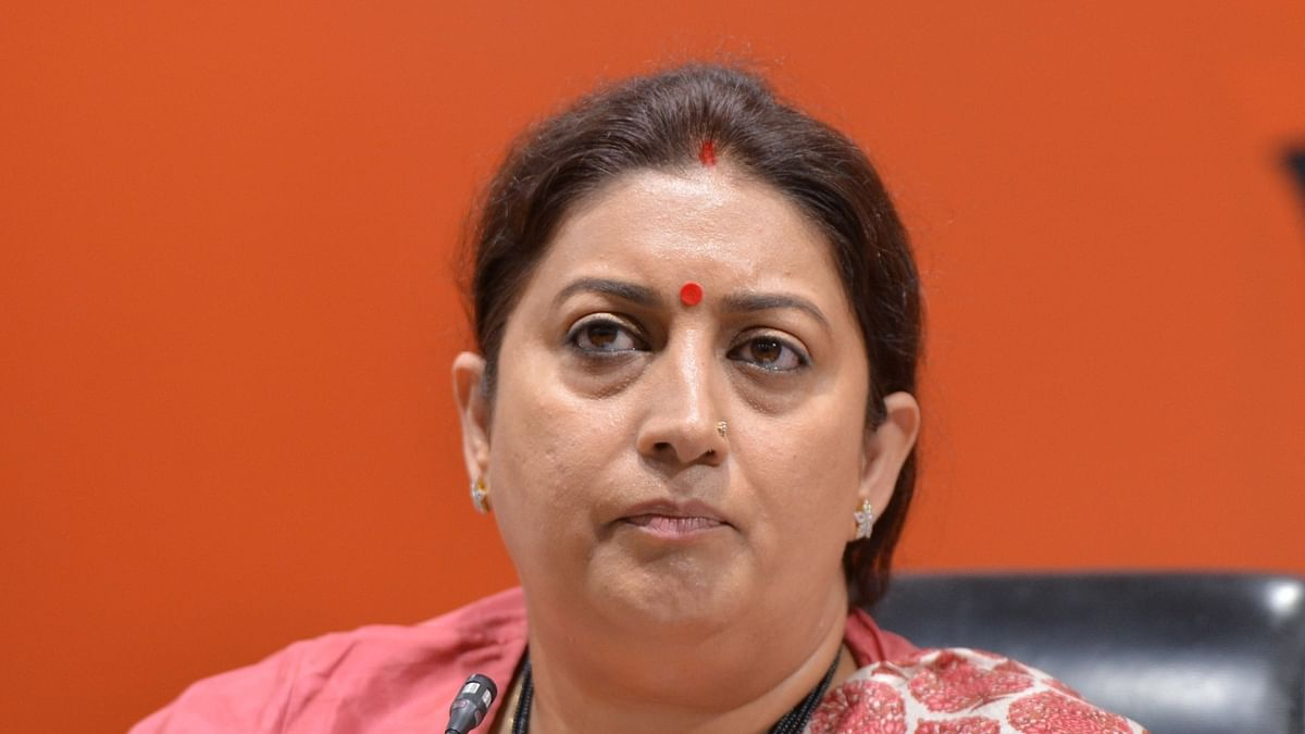 EC finds Smriti's charge of booth capturing false