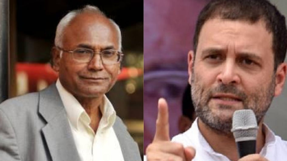 Rahul Gandhi: DU plan to remove Kancha Ilaiah books is to disempower Dalits