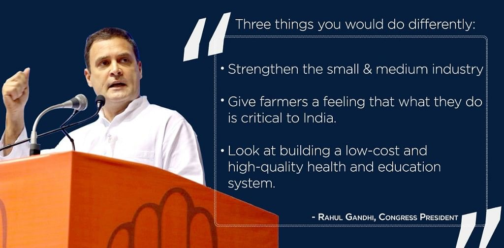 Watch: Why is PM Modi  incapable of taking tough questions, asks Rahul Gandhi