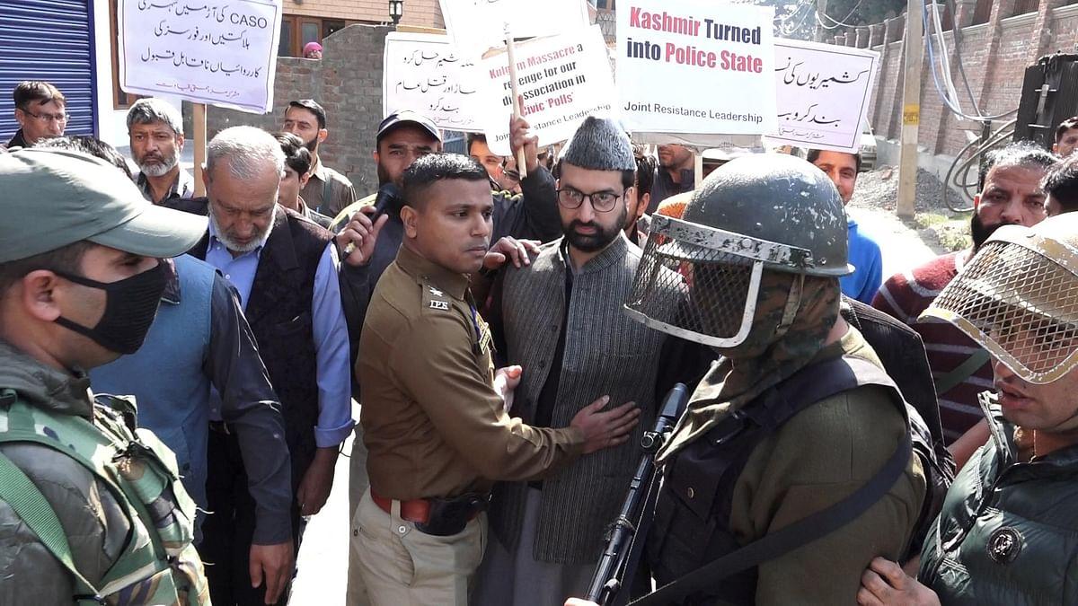 Srinagar: Tension brews  as news of PhD scholar's death reaches home