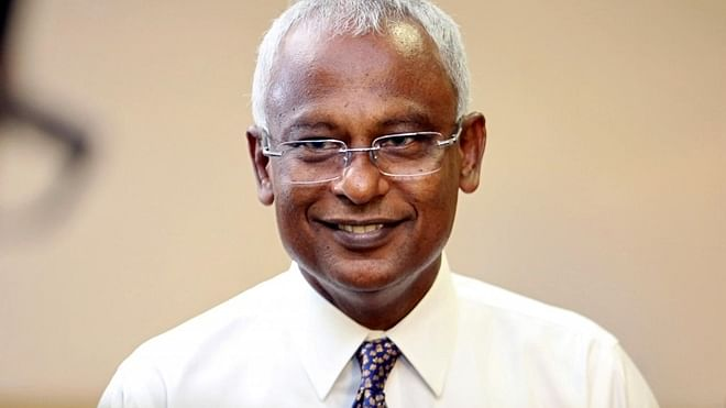 India banks on goodwill as Solih emerges winner