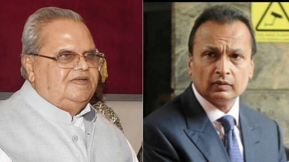 After Rafale backlash, J&K Guv scraps insurance deal with Anil Ambani firm, calls it fraud