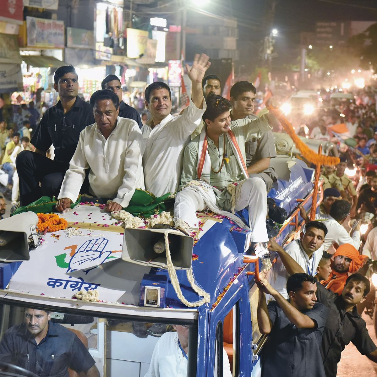It's advantage Congress in the Vindhyas