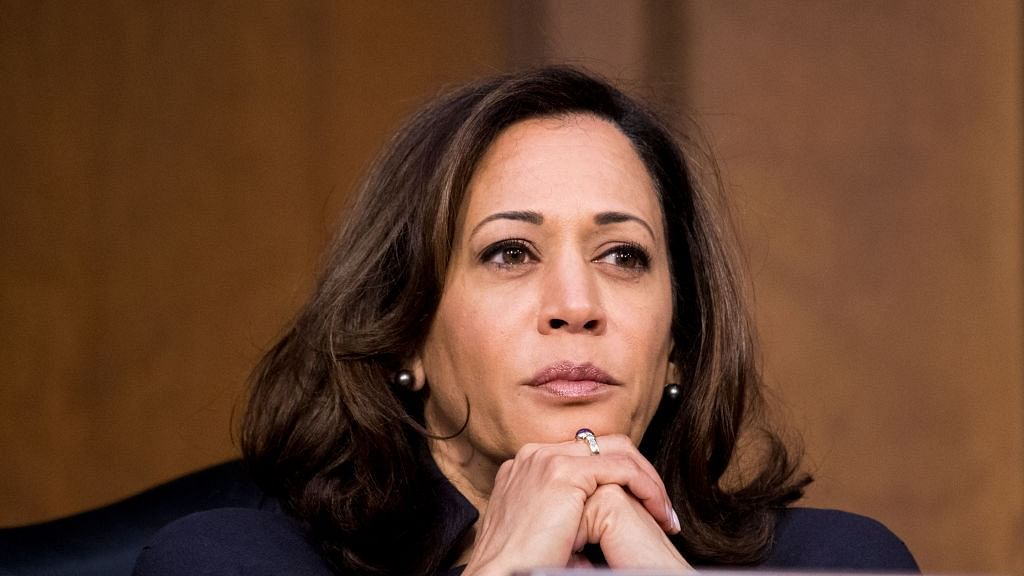 Suspicious package sent to Indian-origin Senator Kamala Harris, though suspect  arrested