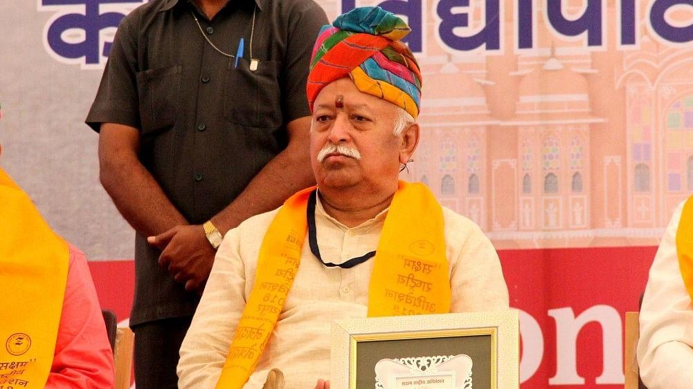 Swami slams RSS chief Mohan Bhagwat for ignoring destruction of Ganga
