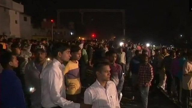 Amritsar:  More than 50 dead as train runs over people watching burning of Ravan effigy