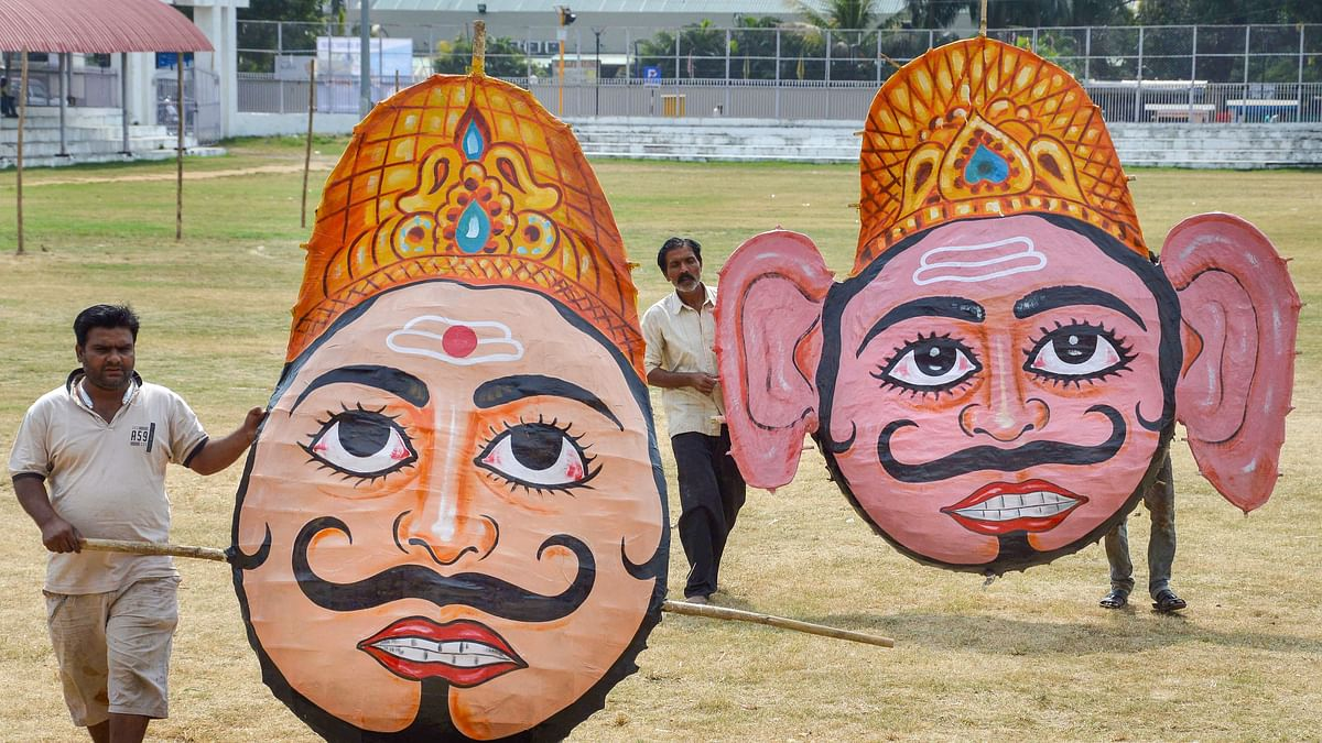 Delhi: No preparations, pending permissions amid COVID-19 play dampener this Dussehra