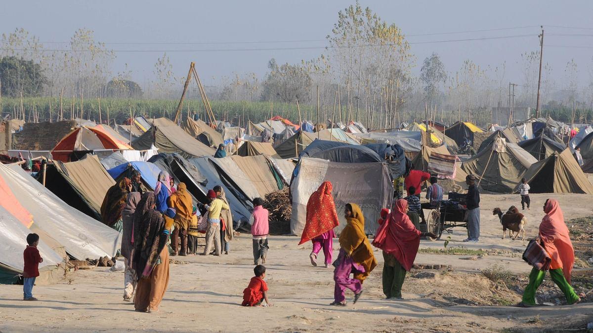 Muzaffarnagar: Muslim families return 5yrs after the riots took place
