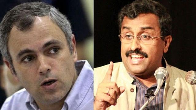 Omar Abdullah slams Ram Madhav for Pak comment, asks his BJP govt to investigate