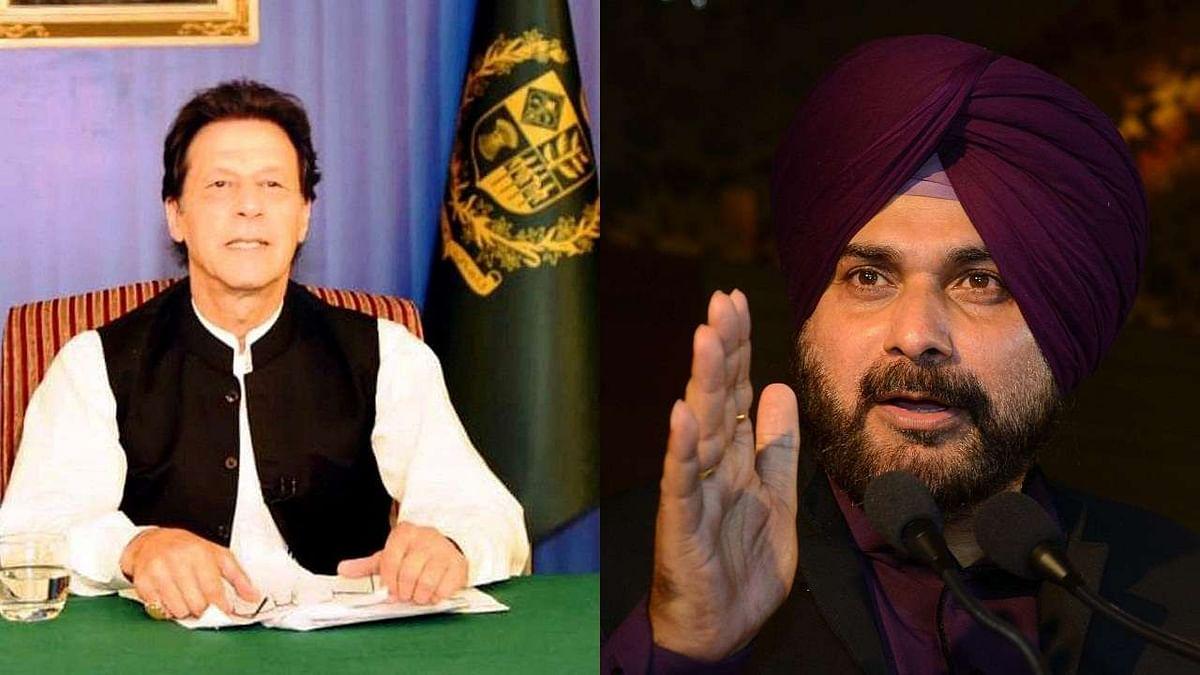 A full flow of bonhomie between Imran Khan and Navjot Sidhu