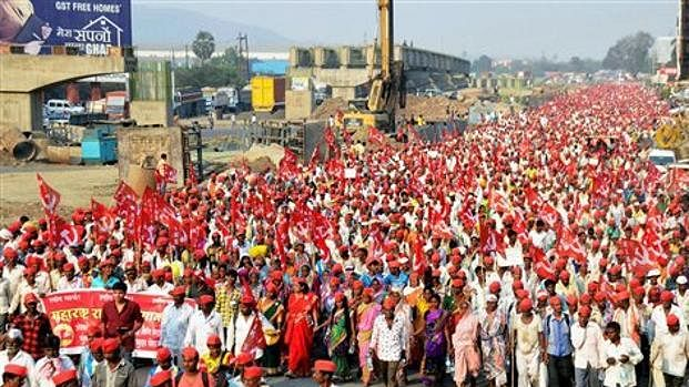 Maharashtra: 30,000 farmers, tribals begin two-day protest