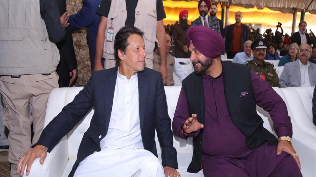 Pakistani PM slams those who criticised Sidhu for his visit to Pakistan