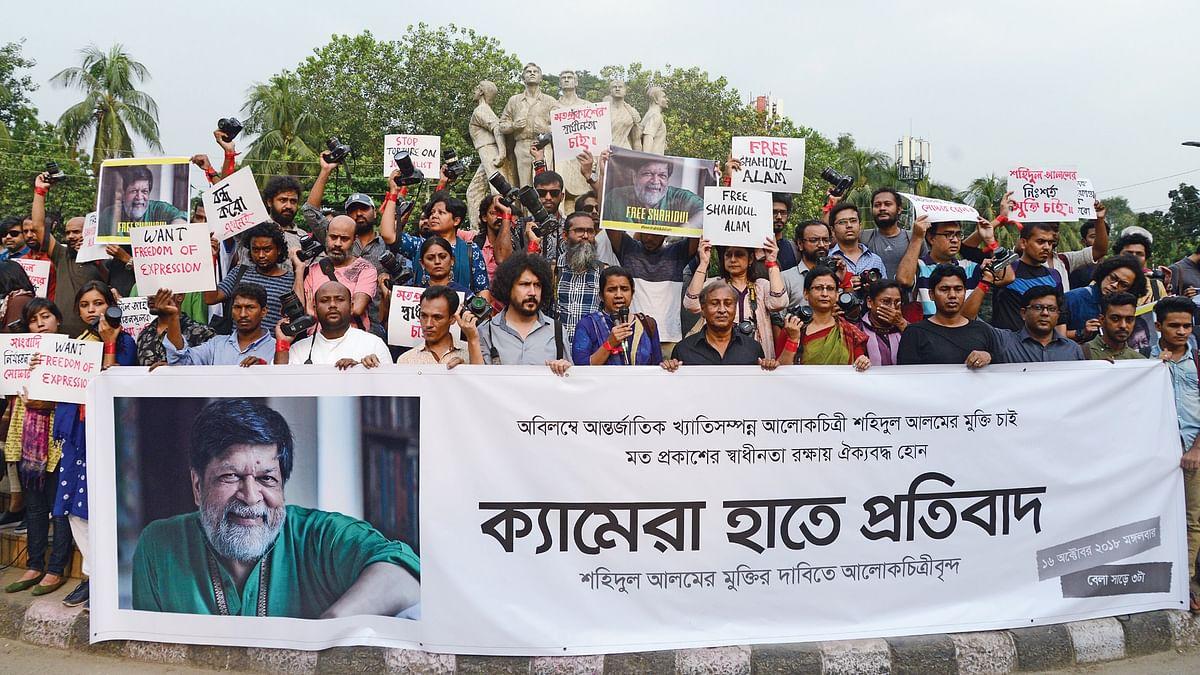 Shahidul Alam: Bangladesh imprisons a celebrity