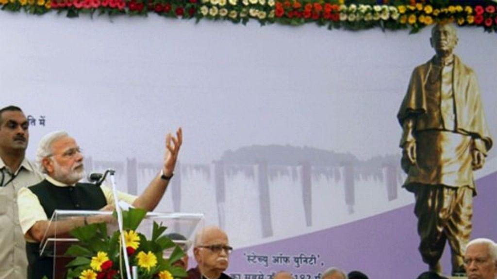 BJP's statue-building race divides Sangh Parivar, while Modi, Shah remain silent