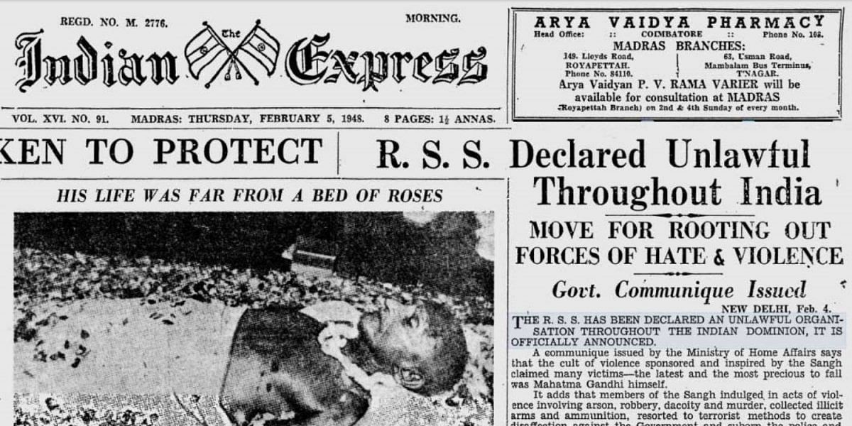 What did Sardar Patel actually think of RSS?