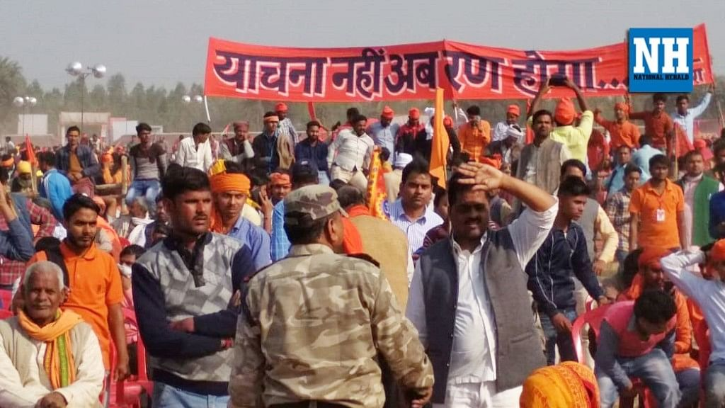 VHP claims 3 lakh supporters in Ayodhya; Uddhav Thackeray warns BJP on Ram temple delay