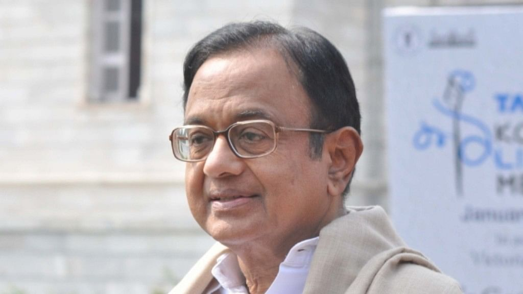 "P Chidambaram: J&K Governor feels democracy is ""outdated"""