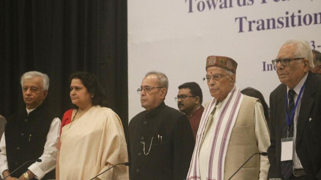 "Pranab Mukherjee: ""Country passing through rising intolerance"""