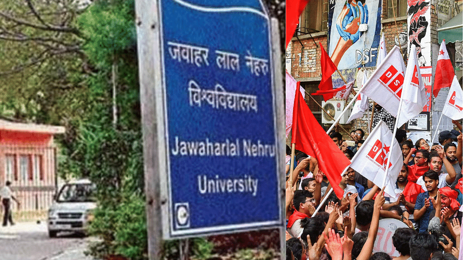 JNU Teachers'Association polls: Left sweeps, BJP loses  all seats