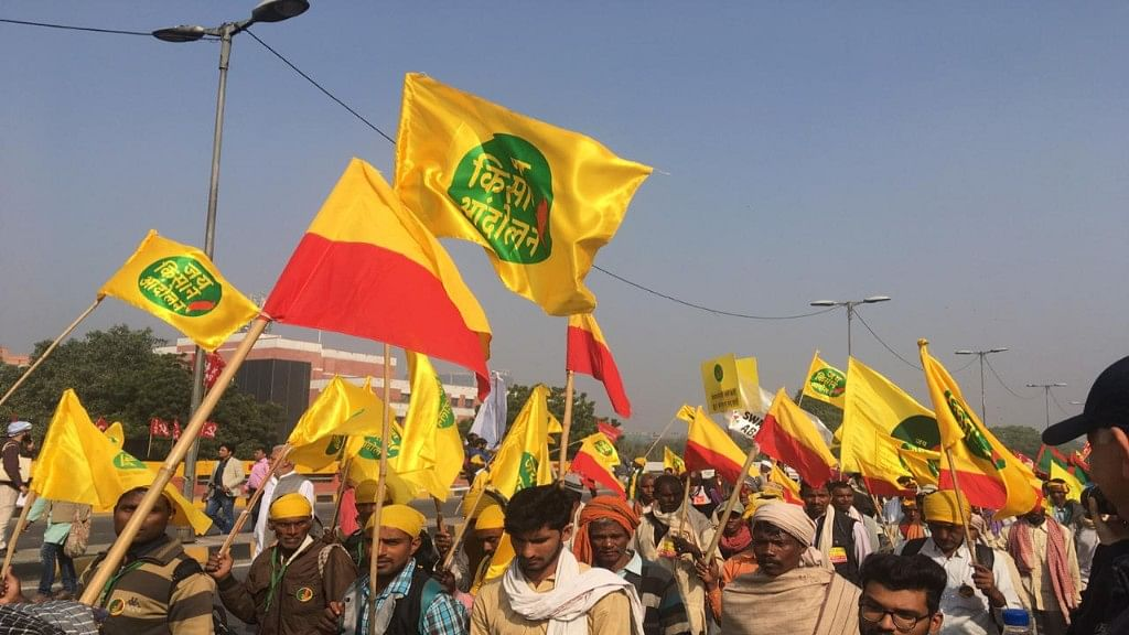 Farmers flock to Delhi with a remarkable mission