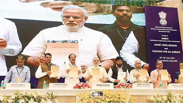 Modi's Awas Yojna to provide 'housing for all' is yet another jumla