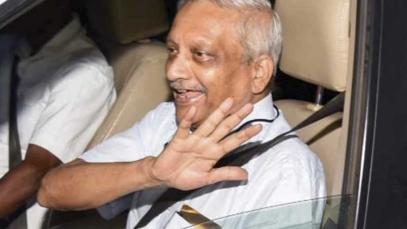 BJP ally in Goa: No question of replacing Parrikar