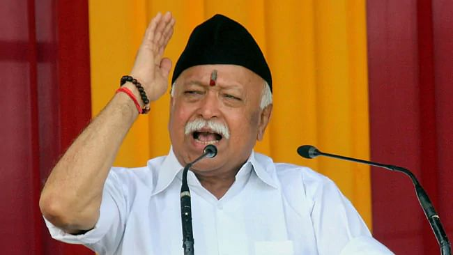 'India is a Hindu nation', RSS chief's stunning declaration