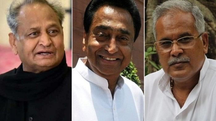 Congress CMs to take charge in three states; Opposition to put up show of strength