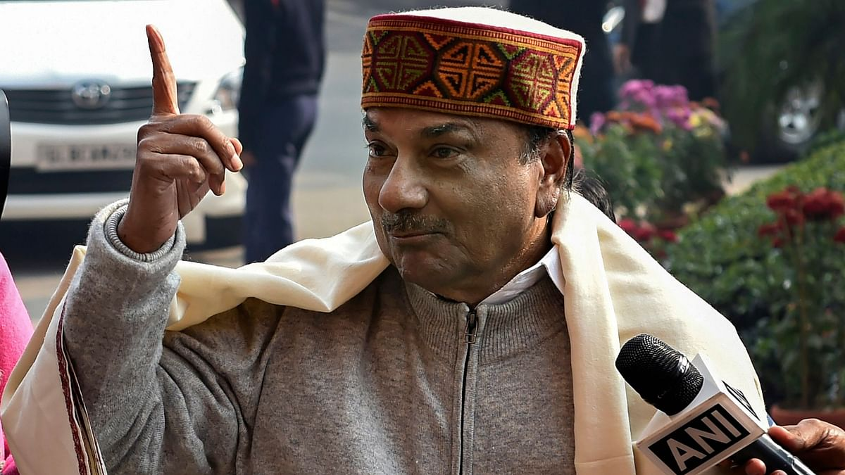 AK Antony: BJP using agencies to manufacture lies in AgustaWestland case