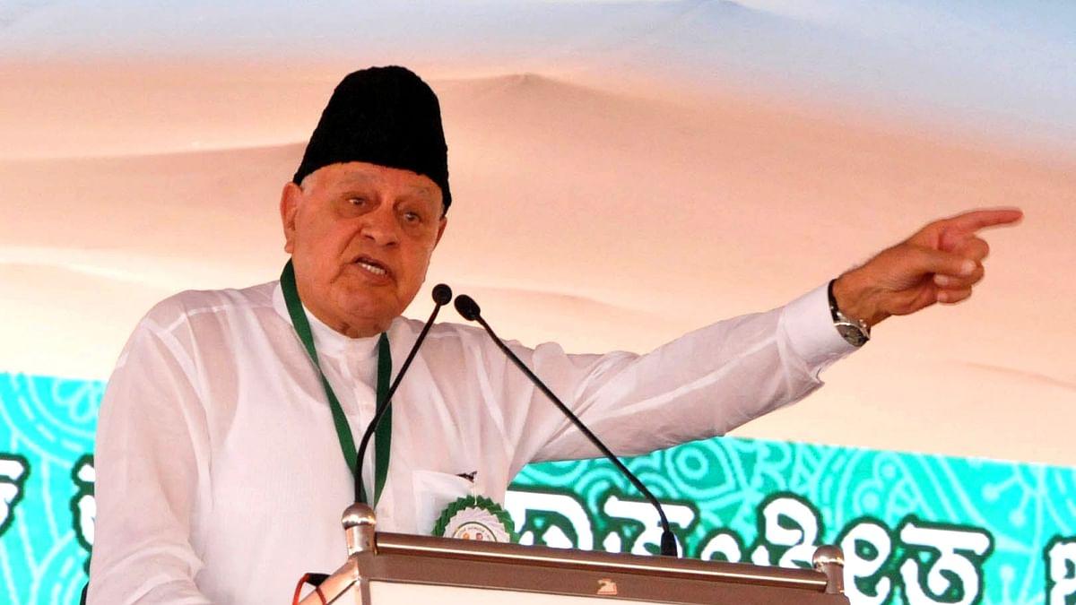 BJP spreading hate to win Uttar Pradesh assembly polls: Farooq Abdullah
