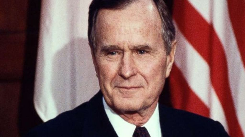 What is the legacy of George HW Bush?