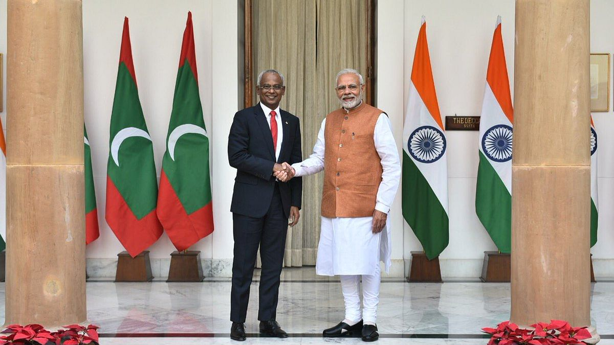 Under huge Chinese debt, the Maldives to get $1.4 billion aid from India