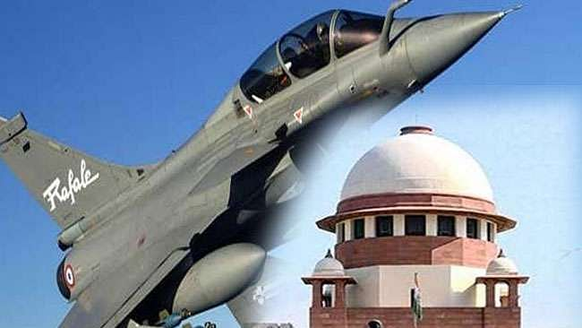 Govt gives  grammar lesson to  Supreme Court on Rafale, files correction application