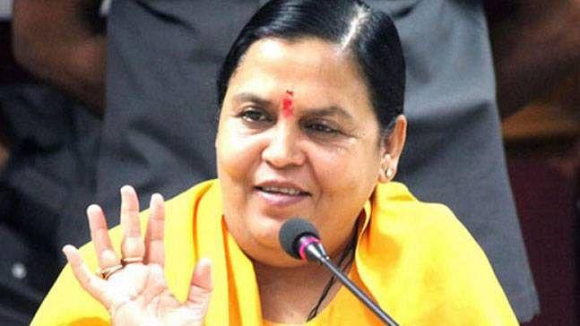 Uma Bharti urges BJP not to seek Kanda support