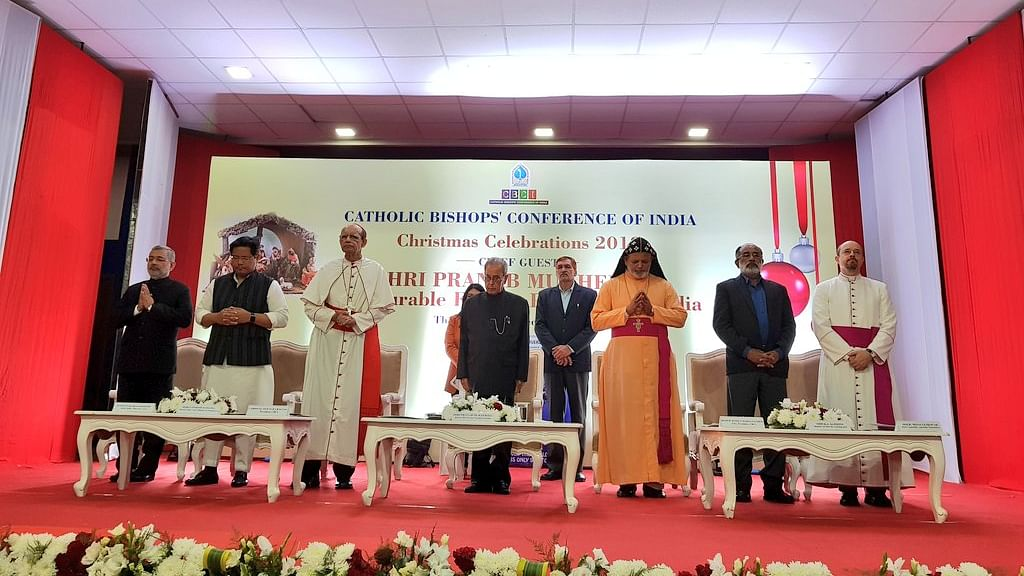 Pre Christmas celebration programme organised by Catholic Bishops Conference of India