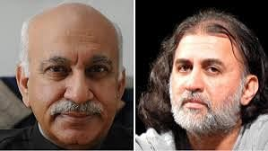 MJ Akbar, Tarun Tejpal  suspended from Editors' Guild