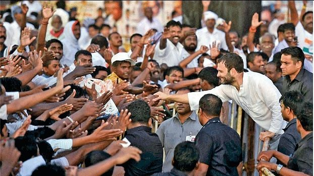 Rahul Gandhi brings common man to political centrestage
