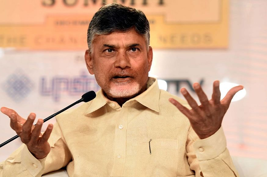Andhra Pradesh Chief Minister N Chandrababu Naidu (PTI)