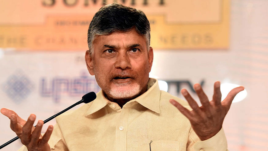 PM Modi 'hollow man', did nothing for the country: Chandrababu Naidu