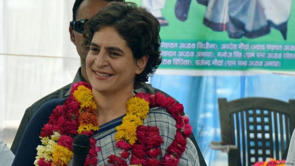 Priyanka Gandhi takes dig at Modi govt over RSS tweet