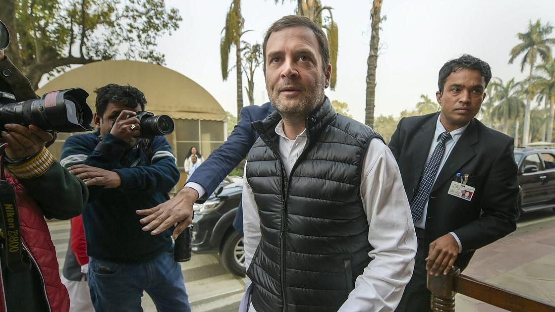 Rahul Gandhi meets Goa CM Manohar Parrikar, enquires about his health
