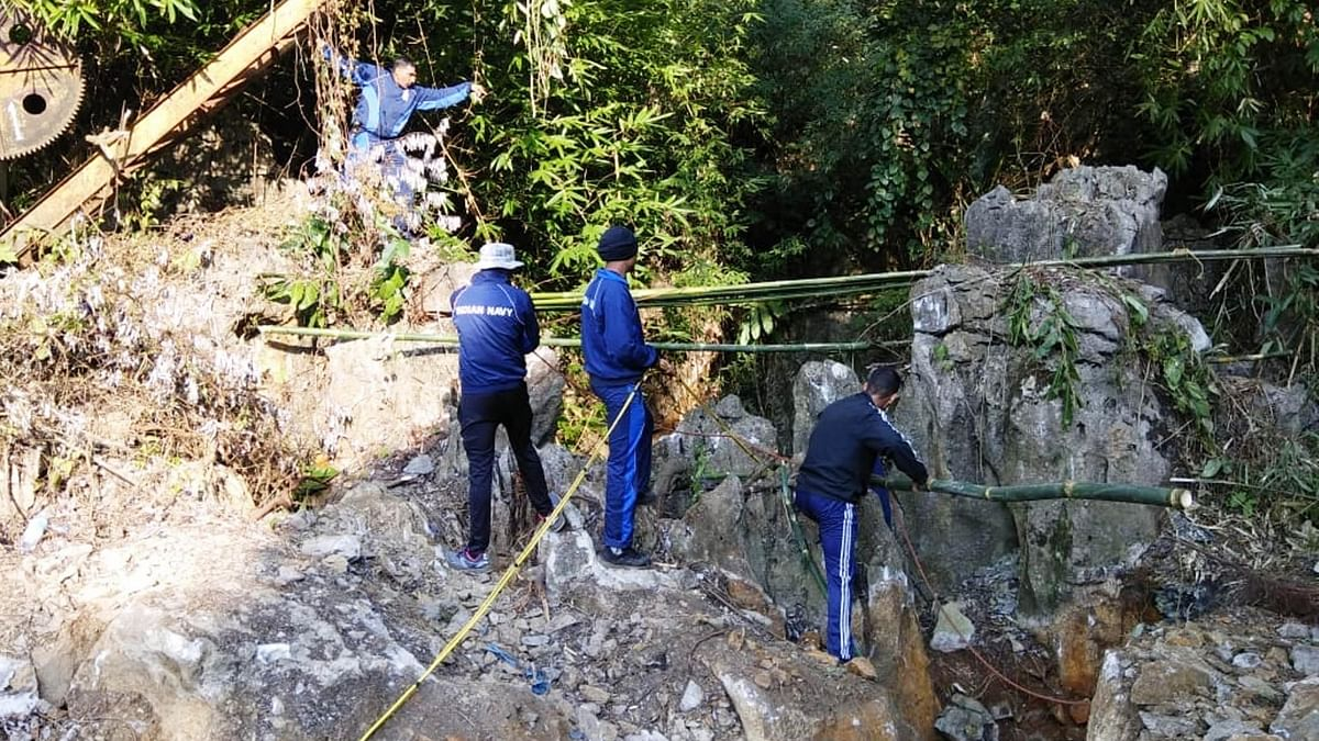 Meghalaya miners: Navy suspends op as bodies 'disintegrate' under water; await SC ruling