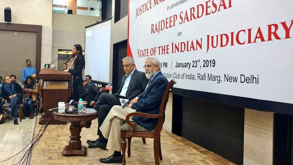 'Abolish criminal defamation, review sedition law': Justice Madan Lokur