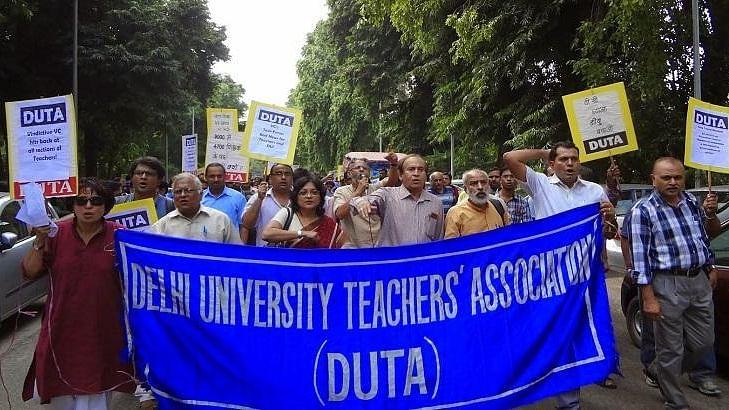 Teachers to shutdown Delhi University this week in support of ad-hoc teachers